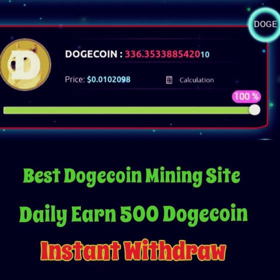dogecoin lottery script